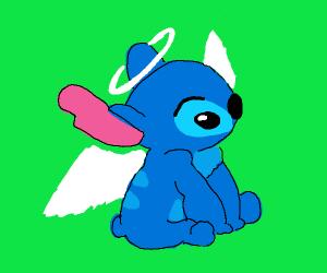 Stitch goes to Heaven