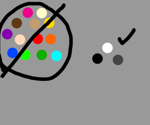 Colors not allowed