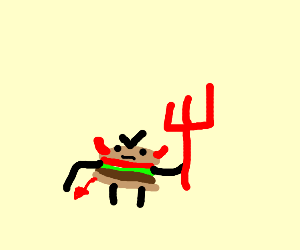 Devilish Burger