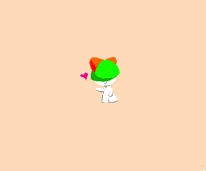 Cute Ralts Pokemon