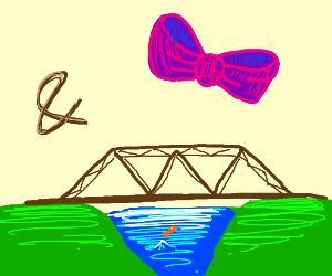 Bridge and bow
