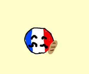 france from countryballs