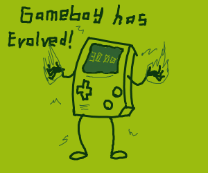 Gameboy evolved into Gameboy 3000!