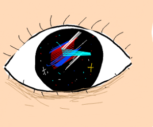 The universe in an eye