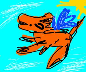 Cheetah Flying