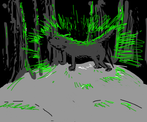 Radioactive wolf