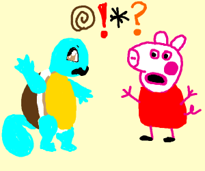 Peppa VS Squirtle