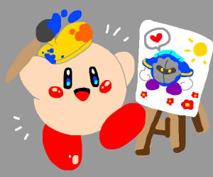 Kirby Bob ross