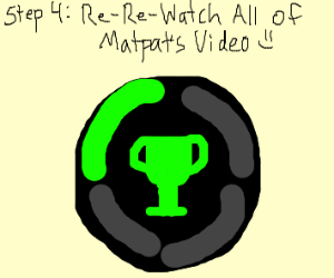 step 3: re-watch every matpat video