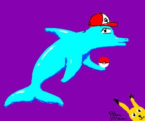 ash ketchum became a dolphin