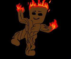 Swole fire groot