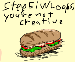 Step 4: Create a new food in your image!