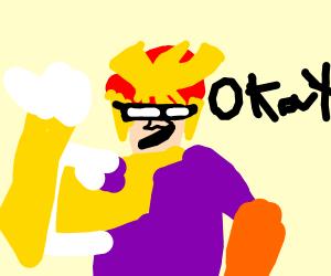 Captain Falcon says Okay