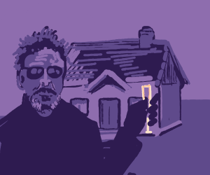 John McAfee Raises Toast to 1 Bedroom House