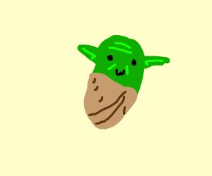 Yoda turned into a potato