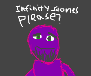 Thanos asks nicely for Infinity Stones