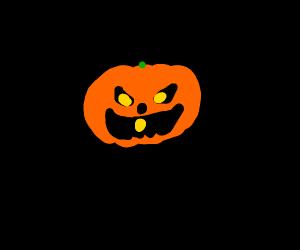 evil Jack-o-lantern
