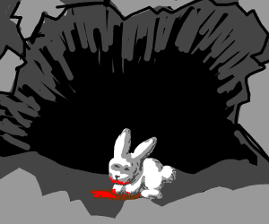 The lair of the Killer Bunny