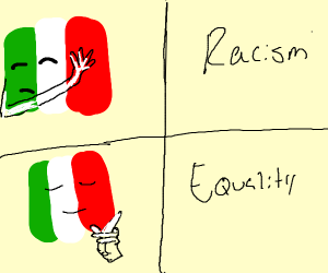 Italy is against racism