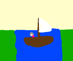 Grandma crossed with Sailboat