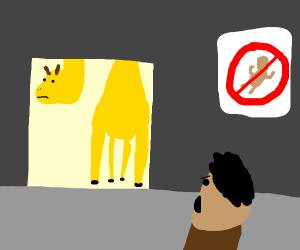 Alright so a giraffe enters an abortion clin-