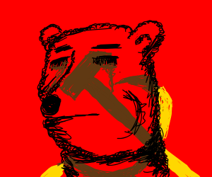 Sad Russian Bear