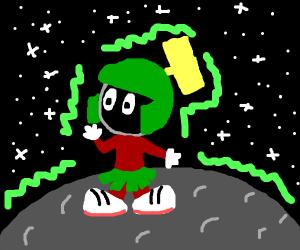 Martians got rekt by radiation