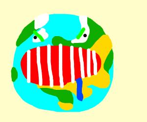 Scary Earth