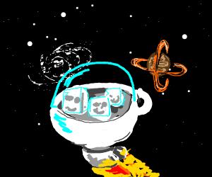 Sugar from an Alien Planet