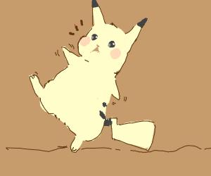 Pikachu Tripping