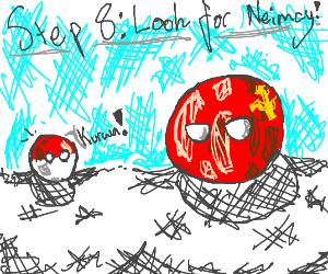Step 7: Run away, Sovietunionball