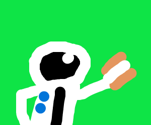 Spaceman Spiff has icecream sandwich!