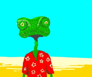 lizard from rango