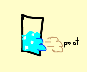 farting water