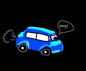 farting car