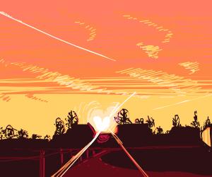 A skyline