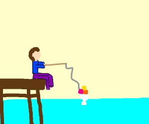 Fishing for a Sundae