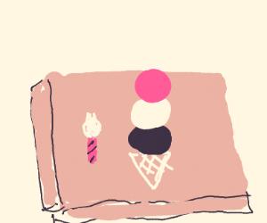 delicious ice cream cake! :0