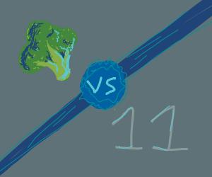Broccoli vs 11