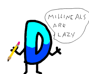 Drawception D is a baby boomer