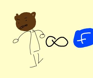 Bear-man, infinite and facebook