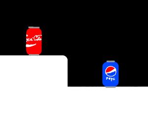 Coca Cola have higher ground than Pepsi