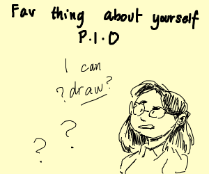 favorite thing about yourself (p.i.o)
