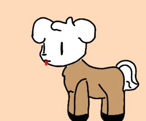 A dog-horse hybrid