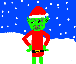 the grinch but he's a skrull