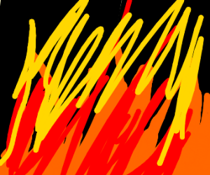 Pure chaos with fire and stuff
