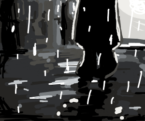 All the rain