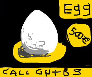 An expensive egg