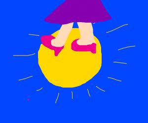 Flat sun