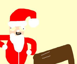 Santa on drugs